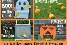Halloween - party games