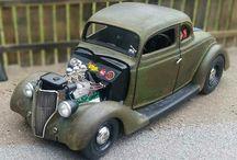 Model - minyatür araba