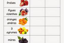 fruits / goût