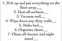 Organizing & Cleaning / by Andrea Lee