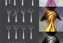 modne dodatki / wiązanie krawata