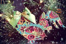 петушки к новому году