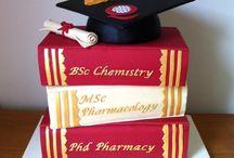 Graduation cakes
