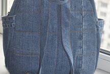zaino jeans
