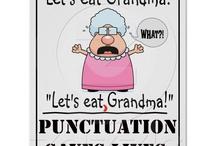 Grammar, I love thee