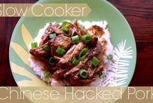 Slow cooker  / Pork recepi