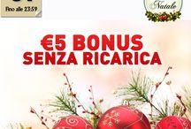 Offerte di Natale 2013 / Tutte le offerte di Natale 2013 dal casinò Voglia di Vincere