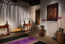 Yoga Studio Style / Studios, rooms, furniture, fixtures and accessories for Yoga and Meditation.
