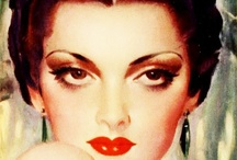 Make-up History - 30s / by Diana Ionescu