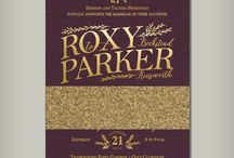 Foil Wedding Invitations / Foil Wedding Invitations! Foil is available in gold, silver & rose gold.
