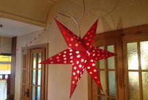 Natale stellare / Cartoncino e colla vinilica