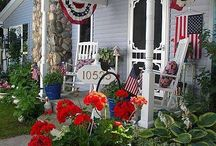 My Patriotic Cottage / by Willow ~