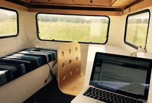 OFFICE IN TINY HOUSES AND TRAILERS