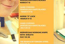 Norwegian Knifemaking & Metalworking