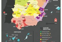 Wines of the world / wine producing regions, maps etc.