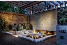 Big backyard design