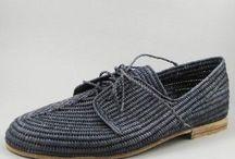 связанная обувь