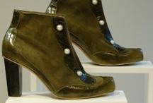 Schoenen / Handmade shoes - work of students and teachers at Jouw stoute schoenen - Amsterdam