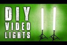 Video Lights / Видео свет / Tags: diy, how to, ideas, tips, how to build, make, homemade, оригинальные, сделай сам, своими руками, идеи, how to make, construction.
