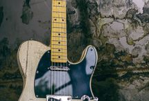 Reclaimed wood telecaster