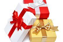 Gaver, jul, føds. mm