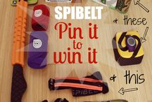 SPIbelt Pin It to Win It Swag Bag / Here's your chance to win a a bunch of cool stuff including a Soleus GPS watch, a Pair of Altra Running Shoes, a SPIbelt, a Triggerpoint GRID STK, Kill Cliff Nutrition and Recovery, and DR. Cool Compression Wraps!