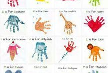 Learning skills hand/foot print designs