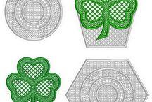 FSL embroidery designs / Unique FSL embroidery designs