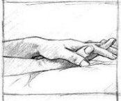 Holding my hand