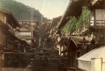 hot springs / 温泉街