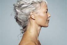 Harmaat hiukset, grey hair, color