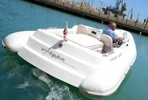 Vader, composite 6.5m diesel jet tender / at 1500 kgs this composite 6.5m diesel jet tender is perfectly suited for yachts garages with an air draft of just 1.25m