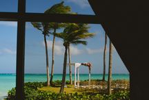 PUNTA CANA WEDDING INSPIRATION / Real weddings documented in gorgeous Punta Cana, Dominican Republic by Katya Nova.