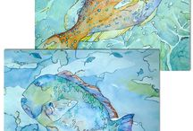 akvarellikalat