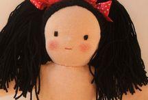 muñecas waldrof