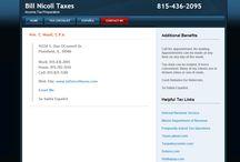 ncome Tax Return Preparation in Plainfield, IL - BillNicollTaxes.com