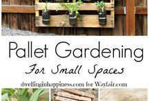 Creative yards for small spaces / My future yard space ideas