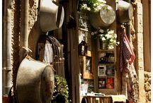 Fachadas, escaparates, tiendas