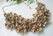 necklaces / Making jewelry  , specially necklaces are my hobby / by Maria Carrillo
