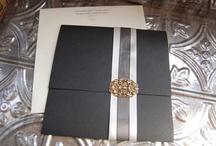 Black & Vintage Invitations