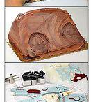 Cake Tutorials/Tutoriales Tartas