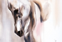 horse paintings / by Dawn Keebals