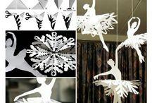 Wzory ozdób papierowych