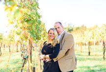 Jefferson Vineyards Engagement Photos