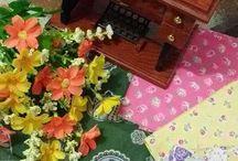 cotton n flowers