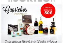 comparte prueba y opina / Sorteo gourmet