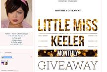 Little Miss Keeler / These are some of my many blog posts.