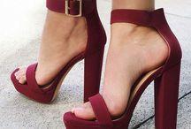 High heels • boots • classics