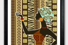 African Art Crafts/Paintings