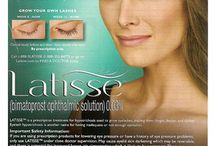 Latisse / Are your lashes thinning? LATISSE® grows lashes longer, fuller and darker. Ask Dr. Goldsmith if Latisse® is right for you!